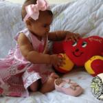 Estímulos e Brincadeiras para bebês de 6 à 7 meses